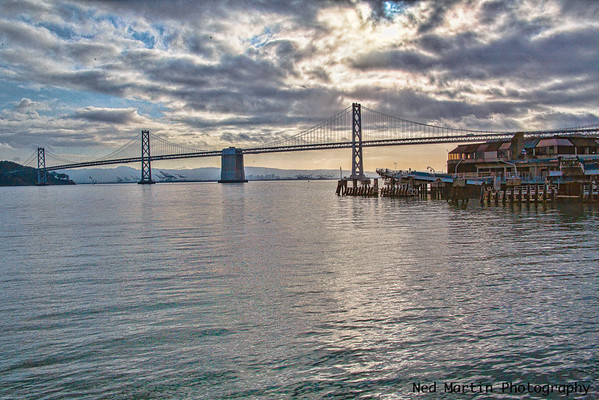Bay Bridge from San Francisco waterfront