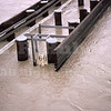 River gauge at Colusa Bridge 1/26/70