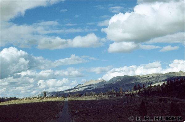 Cloud Effect near June Lake 9/19/1950