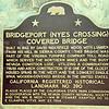 Bridgeport Covered Bridge, 1960's (Nyes Crossing)