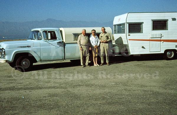 Ray Huber, Jo Huber and Howard Stubblefield