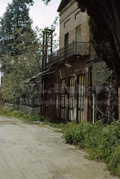 John Duchow's Printing Office, Columbia California 4/21/1951