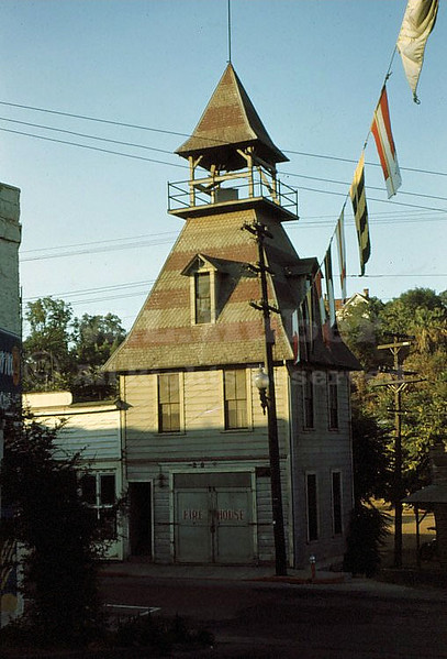 Firehouse, Auburn California 1948
