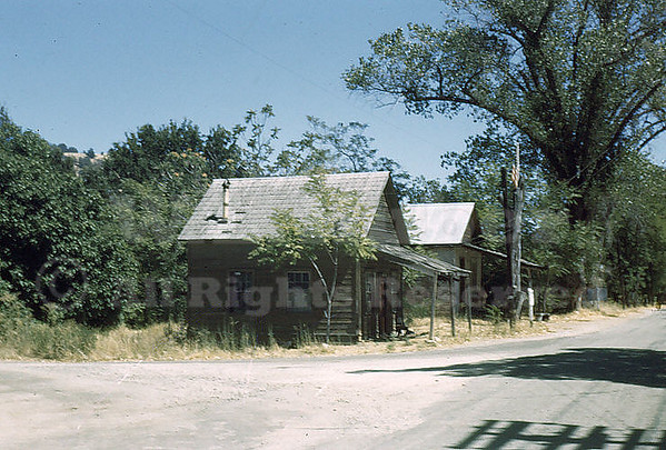 Second building is Bekeart's Store, Coloma California Aug. 1943