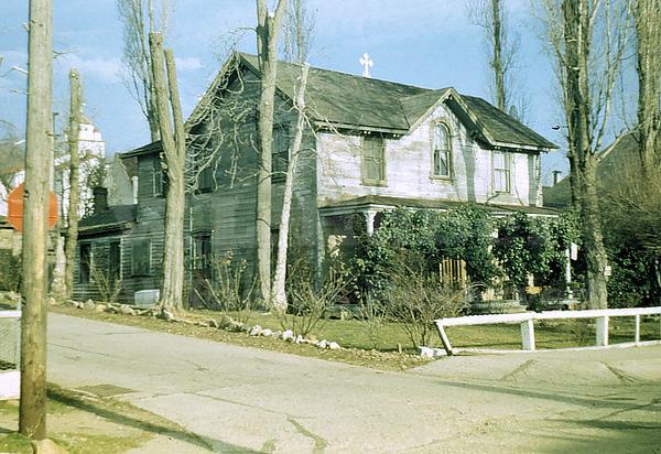 Lola Montez House, Grass Valley California, Feb 1944