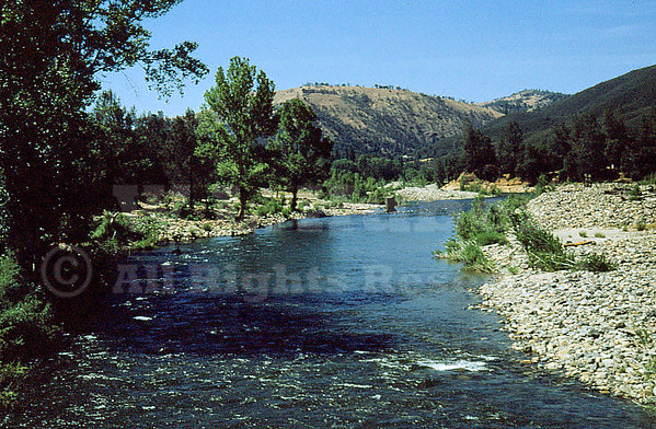 Site of Marshall Gold Discovery, American River at Coloma California 6/14/1951
