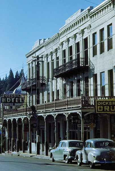 National Hotel, Nevada City California 6/15/1951