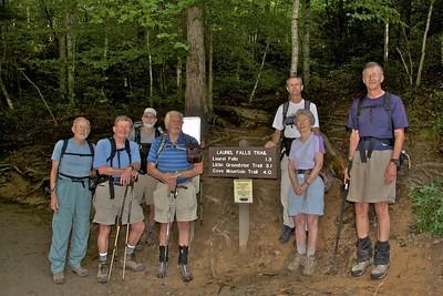 Cove Mtn Trail 07/18/12