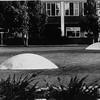 Two Domes<br /> Commission Monash University, Aluminium 1970