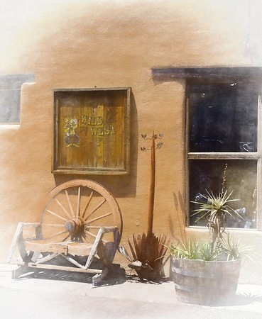 old west rest stop ...