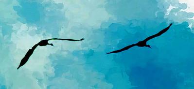 crane couple ...