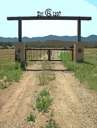 gabled 'n gated ...