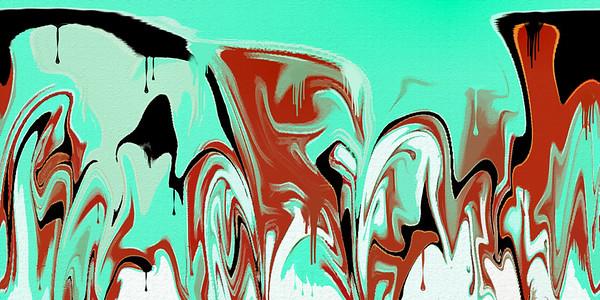 wet paint ...