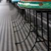 sidewalk cafe ...