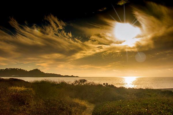 carmel sunset ...