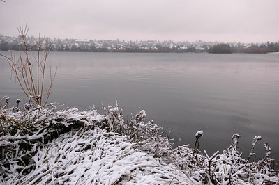 Early Snow over Green Lake