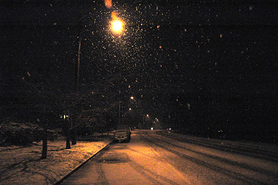 Snowy Night in November