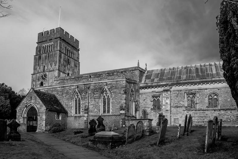 Church of All Saints, Earl's Barton, Northamptonshire