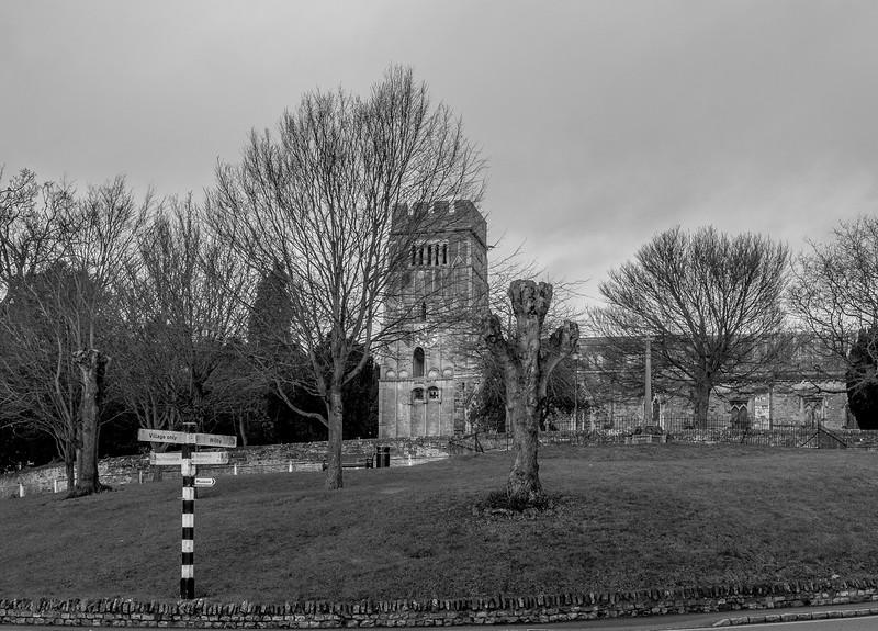 Finger Road Sign, Earls Barton, Northamptonshire