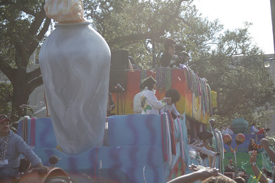 Mardi Gras: Day Two: Feb 2, 2008