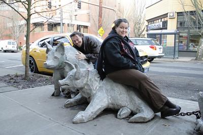 Visiting Anja in Portland
