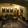 Hotel lobby. Bhawan. Jaipur. This place was superb and straight out of the Raj period.