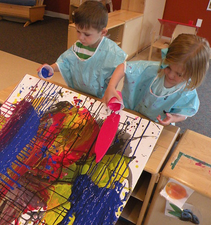 Drip Paint - Toddlers