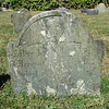 Patience Coggeshall's father's grave: Freegift Coggeshall 1659-1728 (Gen. Arnold's great-grandfather)
