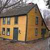 This house is thought to be Dr. Turner's home at the time of the Revolutionary War. It is hard to spot as you drive by as it sits well back from the road, behind trees.