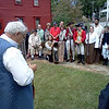 """The """"Benedict Arnold Leg"""" ceremony, which is held annually at the museum (photo provided by a fellow Arnold enthusiast)"""