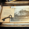 On display at the museum is the key from Benedict Arnold's birthplace. (photo found on the web)