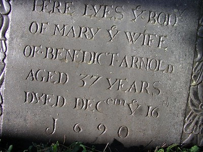 Mary Turner Arnold Grave