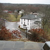 View of the Green from atop Meetinghouse Rock
