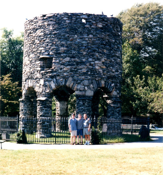 View of the tower in the 1990s