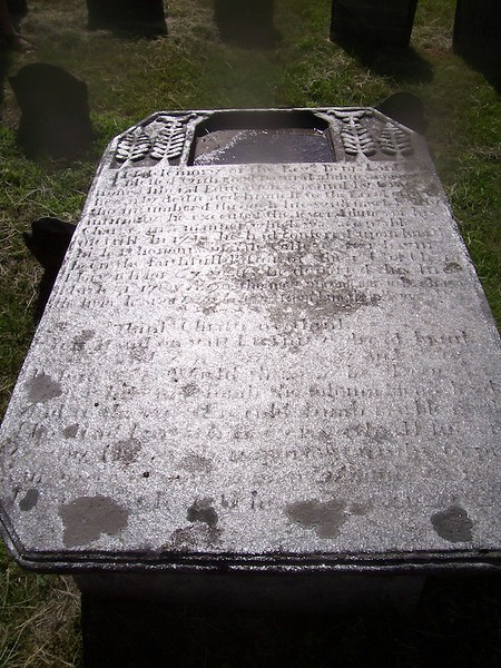 Gravestone of Rev. Lord, as seen on findagrave.com