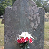 Grave of Hannah, mother of Benedict Arnold (photo provided by a fellow Arnold enthusiast)