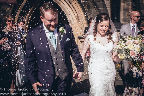 Danny and Ellie's Falcon Manor Wedding