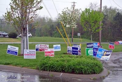 Bewildering Array of Yard Signs