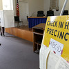 Early voting for the 2016 presidential election started on Monday. On Tuesday it was still going strong in North Central Massachusetts. Voting took place in the meeting room at the Lunenburg Town Hall. SENTINEL & ENTERPRISE/JOHN LOVE