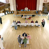 Early voting for the 2016 presidential election started on Monday. On Tuesday it was still going strong in North Central Massachusetts. Early voting on Tuesday at Leominster City Hall. SENTINEL & ENTERPRISE/JOHN LOVE