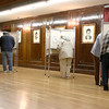 Early voting for the 2016 presidential election started on Monday. On Tuesday it was still going strong in North Central Massachusetts. Many were voting early in Leominster at City Hall. SENTINEL & ENTERPRISE/JOHN LOVE