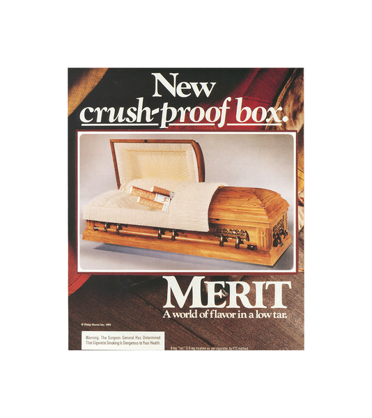 New Crush-Proof Box - wide white frame