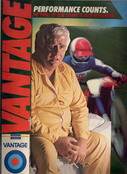 Vantage-Performance Counts, sickly man on edge of bed-motorcyclist