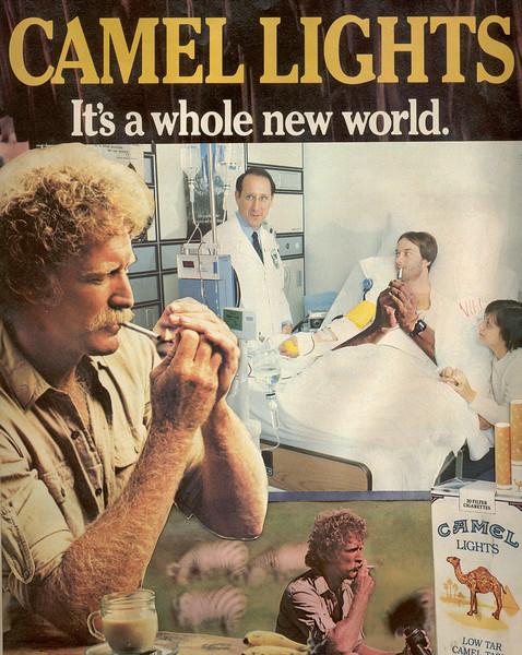 Camel Man - hospital room-it's a whole new world