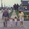 Aug 1990 Ocean City with Jamie, Mom Mom and Pop Pop. 2 1/2 yrs old