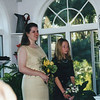Jeanne Kramer and Casey at Aunt Marcy's wedding.