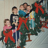 Chrismas 1992 with Brett and cousins, Nick & Adam