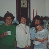 Christmas 1991 with mom, Aunt Sue and Mom Mom