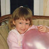 Judging from the pink balloon, this was probably in and around Casey's 4th birthday - 1992.