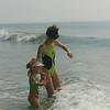 Summer 1993 Sea Isle with mom
